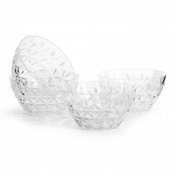 Sagaform набор пиал для пикника из 4-х шт. picknick, прозрачная