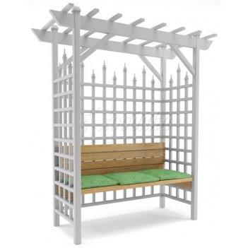 Пергола со скамейкой «зимний сад» стандарт