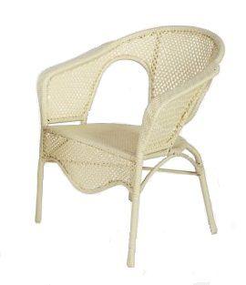 Кресло из комплекта мебели рандеву a255w (слоновая кость)