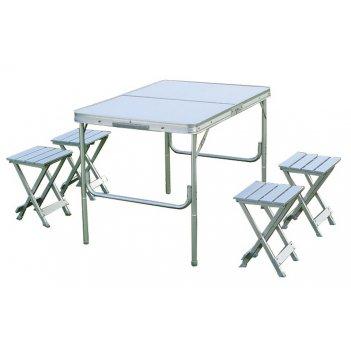 Складной стол со стульями canadian сamper cc-ta828
