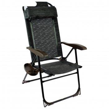 Кресло-шезлонг, 750x590x1090мм, венге кш2