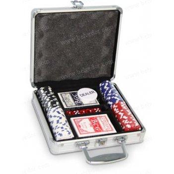 Покерный комплект на 100 шт dice premium