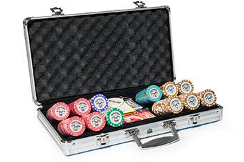 Набор для покера на 300 фишек paradigma crown 14 гр.