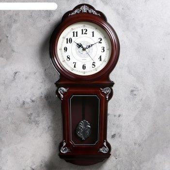 Часы настенные, серия: маятник, пенни, 31х69 см