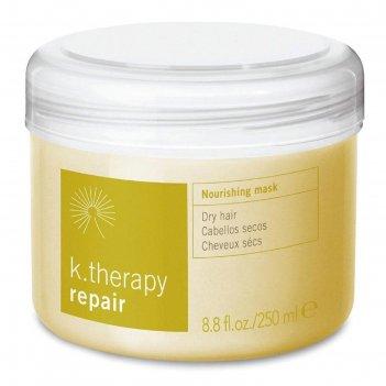 Маска питательная для сухих волос lakme k.therapy repair, 250 мл
