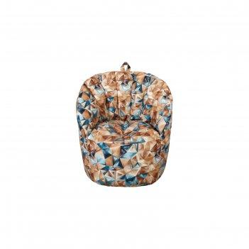 Кресло-пуф, размер 91х85х91 см, разноцветный