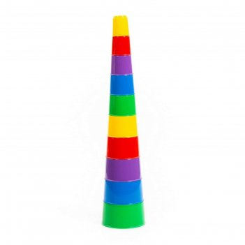 Занимательная пирамидка №2, 10 элементов 35967
