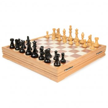 Rtc-2715 шахматы классические деревянные утяжеленные