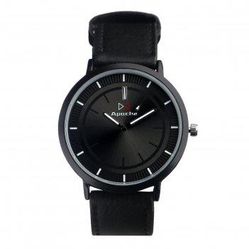 Часы наручные корриер, ремешок из экокожи