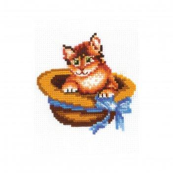 Набор для вышивания котёнок