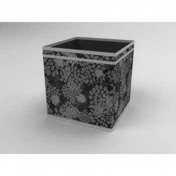 Коробка - куб жёсткая «метелица», 27х27х27 см