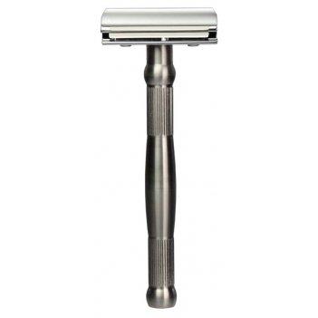Станок для бритья erbe с двумя лезвиями, ручка- высококачественная нержаве
