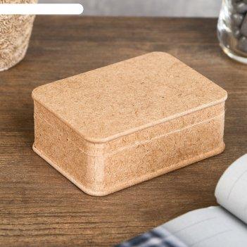 Шкатулка для декора из мдф 10,5х7,5х4 см