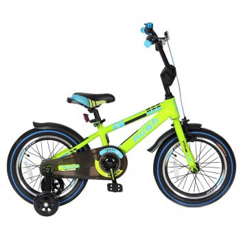 R16g 2-х колесный велосипед 16″ rush sport зеленый