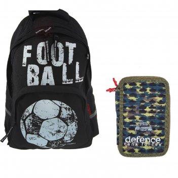 Рюкзак школьный эргономичная спинка 40 х 30 х 16 см bruno visconti «футбол