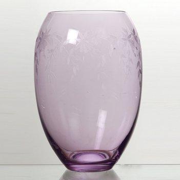Ваза флорал фиолетовая высота= 22,5 см.