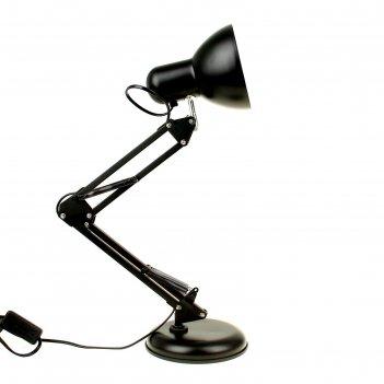 Настольная лампа 55 см, черная