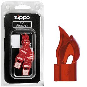 Дисплей пластиковые огоньки zippo 5шт. 7*15см