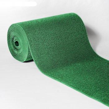 Покрытие ковровое щетинистое травка 0,9 х 15 м, рулон, зеленый