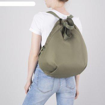 4964 пу600 рюкзак молод, 10*30*47, отд на молнии, 2 бок/кармана, хаки