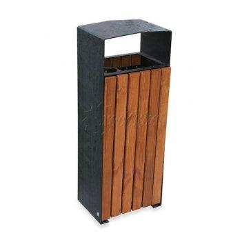 Урна стальная «новая москва» объём: 35 литров