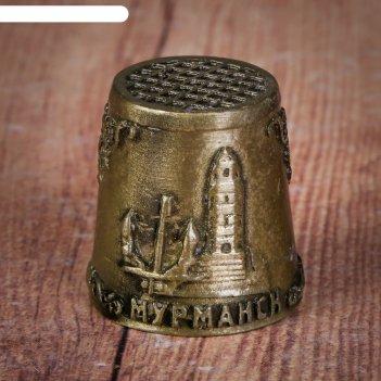 Напёрсток сувенирный «мурманск»