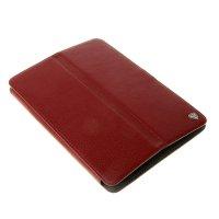 Чехол-книжка norton универсальный 10.1 с уголками, бордовый