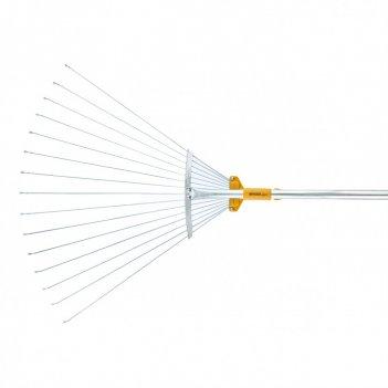 Грабли веерные телескопические, раздвижные luxe palisad