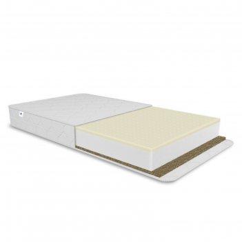 Матрас optima latex, размер 60х160 см, высота 12 см, жаккард