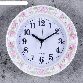 Часы настенные, серия: классика, джуди, 26х26 см, микс