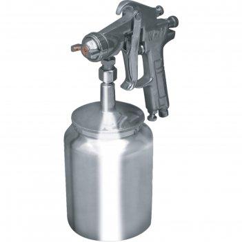 Краскораспылитель кратон hp-02s, дюза 2 мм, 3-4 атм, 120-200 л/мин, 1 л.,