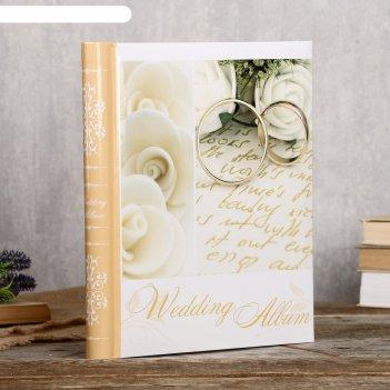 Фотоальбом fotografia магнитный, 20 листов, 23х28 см, свадебный fa-sa20 -3