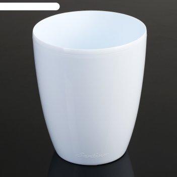 """Горшок """"орхидея """" 1,3 л, белый"""