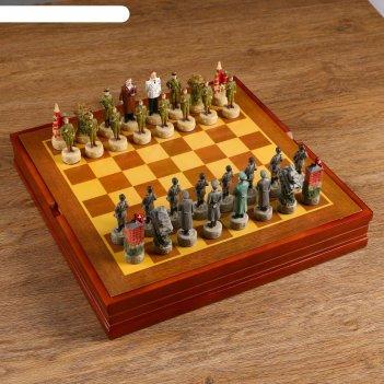 Шахматные фигуры победные (h короля=8 см, h пешки=6,3 см)