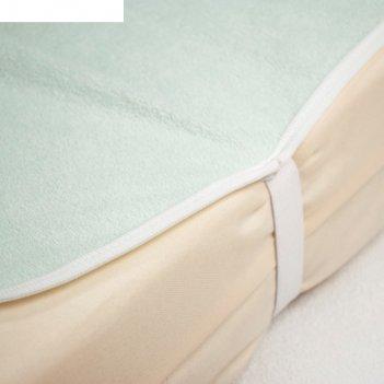 Пелёнка-наматрасник «здоровые сны», размер 60 x 90 см, ментол
