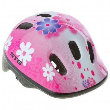 Шлем велосипедиста stg , модель mv6-2-k, размер xs (44-48 см)