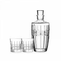 Набор из 3-х предметов для виски, материал: хрустальное стекло, серия rend