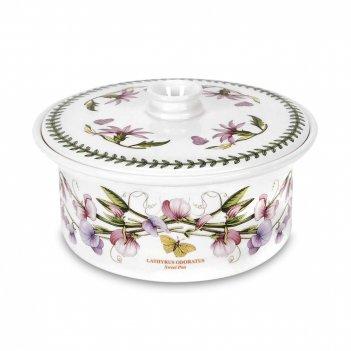 Супница «ботанический сад. душистый горошек», объем: 1,7 л, материал: фаян