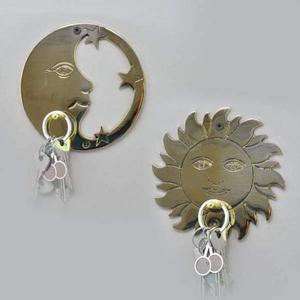 Ключница солнце и луна набор из 2-х пр.