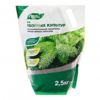 Удобрение органоминеральное хвойное, 2,5 кг   2105544