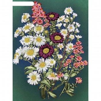 Набор для вышивания лентами «полевые цветы»