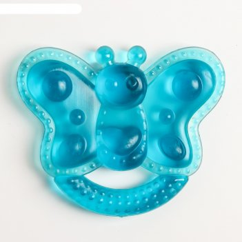 Игрушка прорезывательбабочка с водой, цвета микс