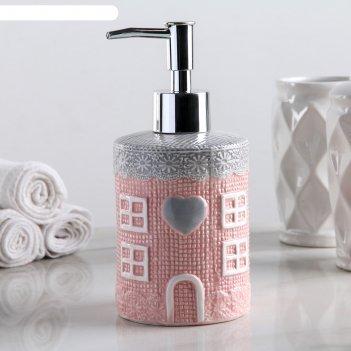 Дозатор для жидкого мыла нежность
