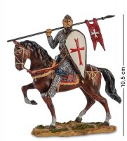 Ws-818 статуэтка конный рыцарь крестоносец