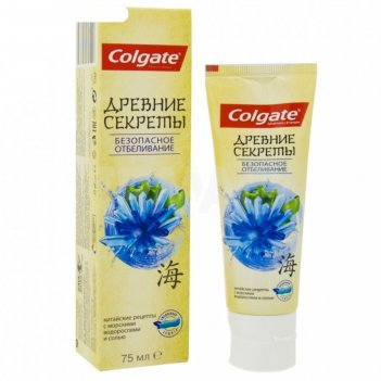 Зубная паста colgate «древние секреты», безопасное отбеливание, 75 мл