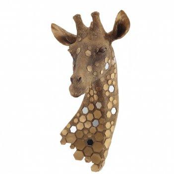 Панно жираф, l23 w21 h46 см