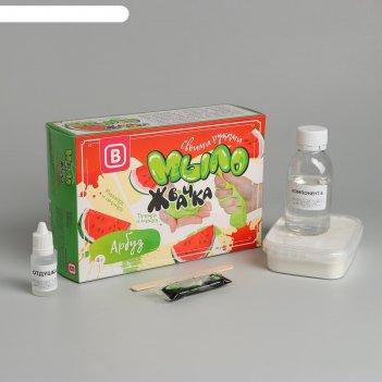 Набор для изготовления мыла-жвачки арбуз