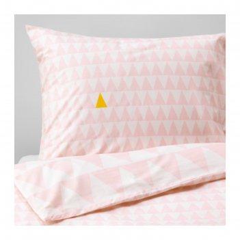 Кпб «стиллсамт», размер 150х200 см, 50х70 см-1 шт, цвет светло-розовый