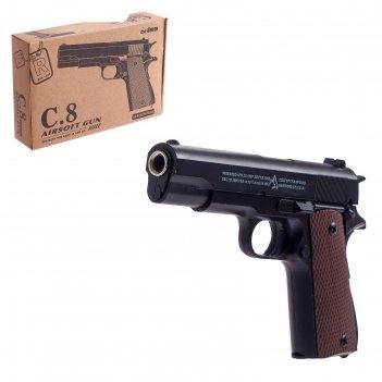Пистолет «барракуда», металлический