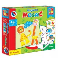 Мозаика магнитная львенок и жираф
